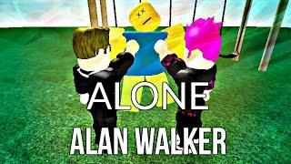 ROBLOX BULLY STORY  -  Alone (Alan Walker)