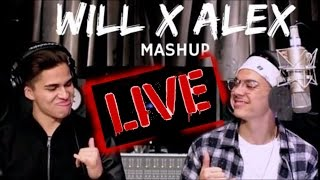 Fake Love, Broccoli & Caroline LIVE | William Singe & Alex Aiono Mashup