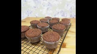 Супер рецепт Простые шоколадные капкейки