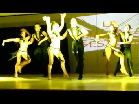 Grizzly Dance Company @ LA Bachata Festival 2nd routine