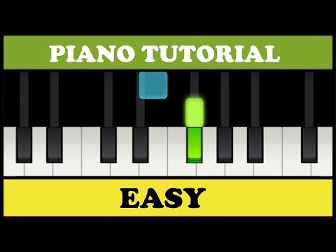 Beethoven Para Elisa Fur Elise Easy Piano Tutorial Synthesia