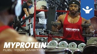 Back Workout Motivation with Obi Vincent by Myprotein