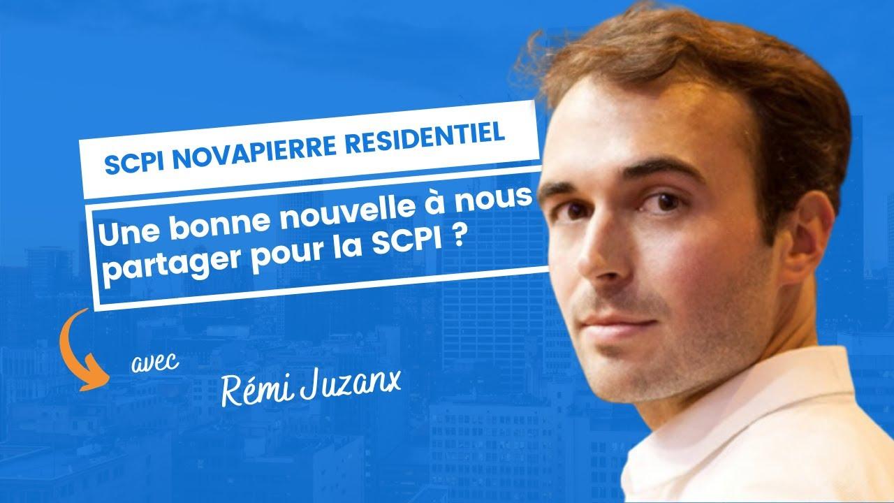 Une bonne nouvelle à nous partager pour Novapierre Résidentiel ?