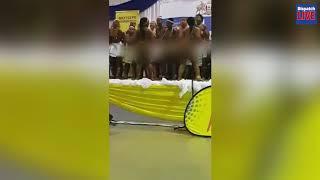 Shock over naked pupils at EC choral festival