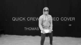 The Weekend - Might not | Quick Crew choreography cover | @thomasgallo