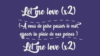 Let Me Love - Boostee Lyrics video