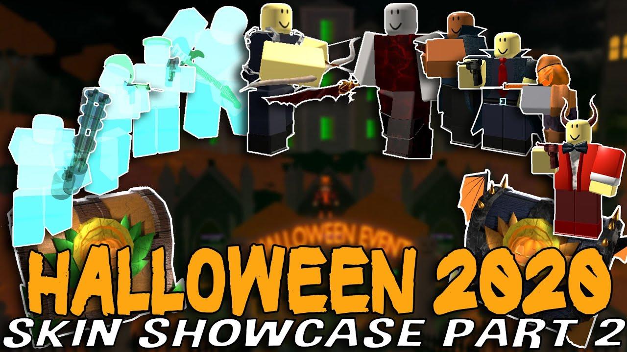 JustHarrison - Halloween 2020 Skin Showcase PART 2!! Tower Defense Simulator - ROBLOX