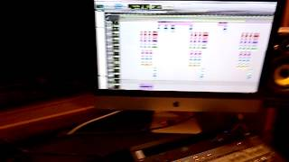 Smoky en el estudio de UrbanFlowMusic 2013