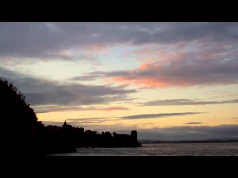 Autumn Sunset Castle St Andrews Fife Scotland