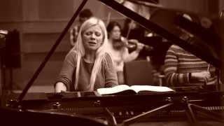 Rehearsing Rachmaninoff Concerto #3 Keller Concerto Budapest Lisitsa