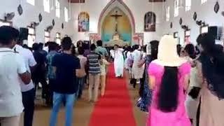 Gunna gunna mamidi dance performance  by church paster....