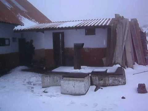 Desde el segundo refugio del Chimborazo!