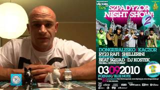 Kaczor zaprasza na Szpadyzor Night 2!