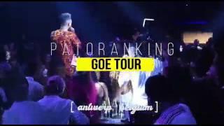 Patoranking GOE Europe Tour 2017