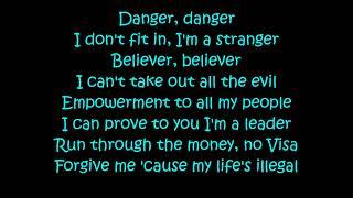 Migos -  Marshmello - Danger (Lyrics) Video