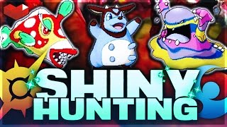 LIVE SHINY HUNTING - Pokemon Sun and Moon! [SPOILER FREE!] RISE & GRIME!