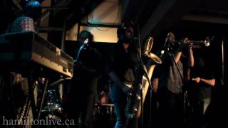 The Budos Band - Crimson Skies - Live at Pepper Jacks in Hamilton, Ontario