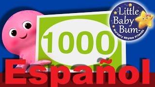 Los números del 100 al 1000 | Canciones infantiles | LittleBabyBum
