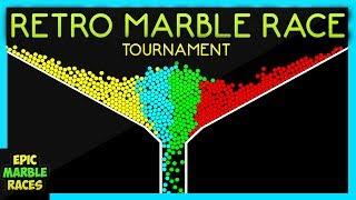 Epic Marble Race Tournament Retro Marble Run