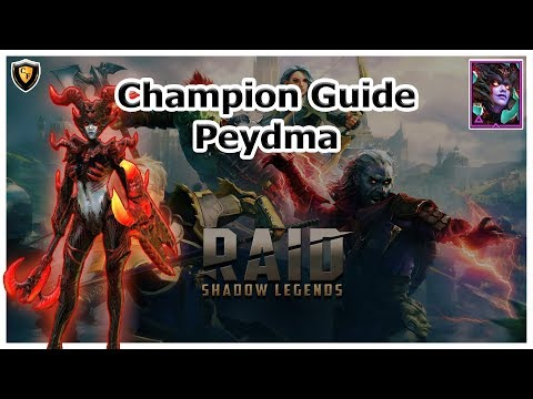 RAID Shadow Legends | Champion Guide | Peydma