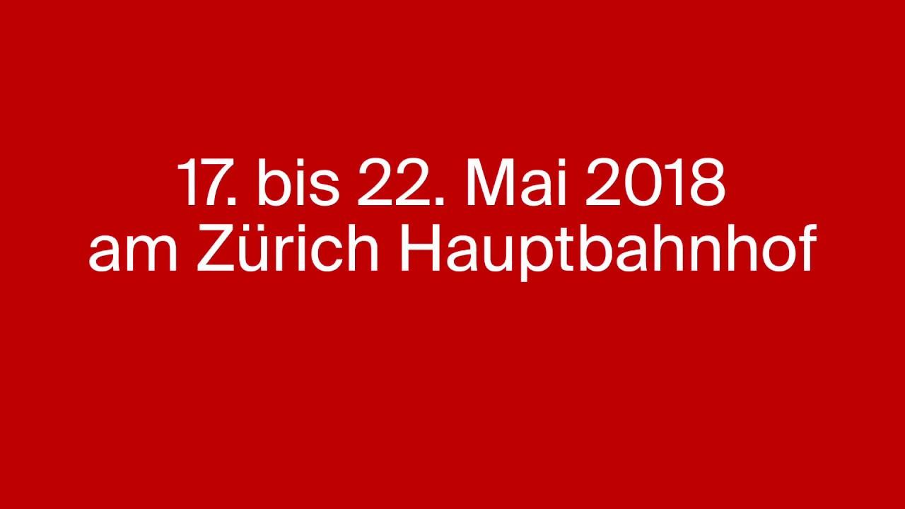 La Fête des Vignerons à la gare de Zürich