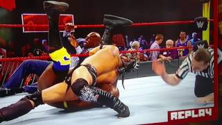 Wwe  extreme rules kick off show part 1