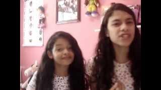Marina e Priscila Felix ( cover ) Não posso voltar atráz