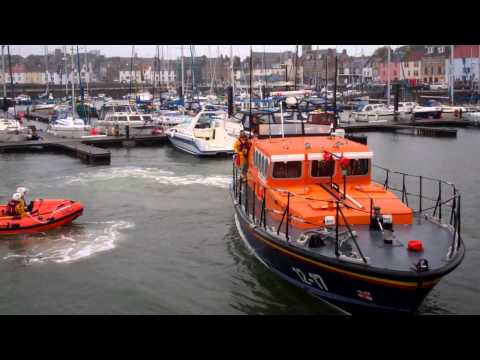 Anstruther Lifeboat Inner Harbour Anstruther East Neuk Of Fife Scotland June 16th