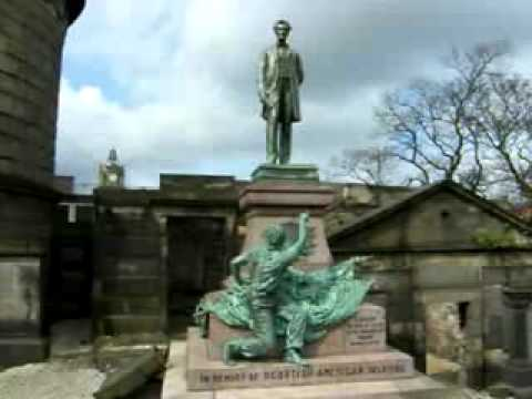 Old Calton Cemetery Edinburgh Scotland