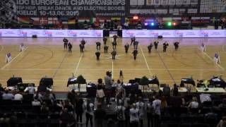 LOST VANS [GER]   Formations Adults   IDO European Hip Hop Championship 2015