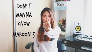 Don't Wanna Know - Maroon 5 ft. Kendrick Lamar | Gabriela Yoon Cover