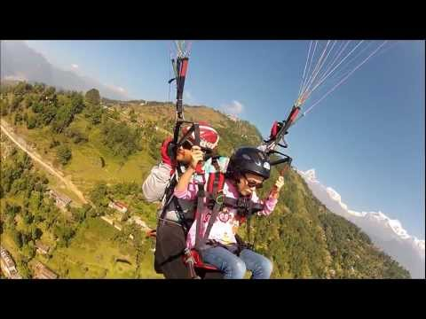 Paragliding in Nepal, 9yrs old Perth