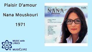 Plaisir D'amour - Nana Mouskouri 1971 HQ Lyrics MusiClypz