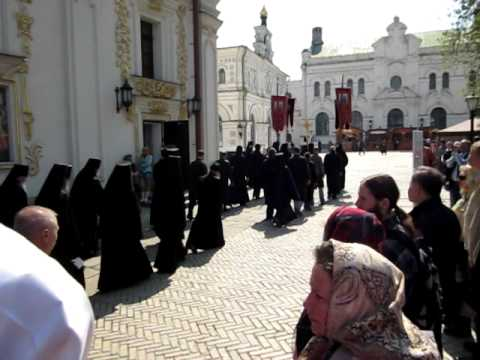 Orthodox Procession – Pechersk Lavra, Kiev, Ukraine