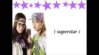 SUPERSTAR ( com letra ) : Isabela e Priscila