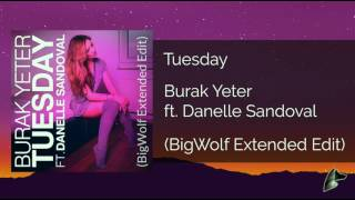 Burak Yeter ft. Danelle Sandoval - Tuesday (Extended Mix)