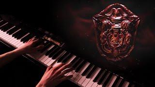 crimson peak, lullaby - piano cover