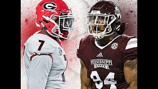 Georgia Bulldogs vs Mississippi State Bulldogs Hype 2017