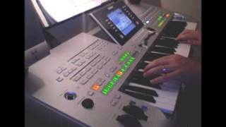 Adagio For Strings • Yamaha Tyros 3 Demo