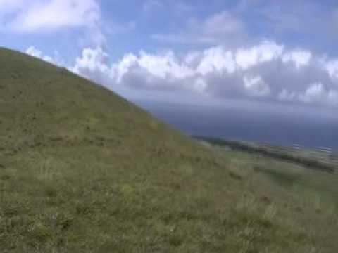 Viaje por Sudamerica di Giacomo Sanesi. Isla de Pascua (CIL). 01340 – cerro pui 2