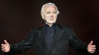 Adiós a Aznavour, la gran voz de la canción