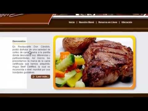Restaurante Managua / http://www.restaurantedoncandido.com/