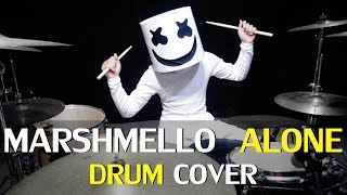 Alone - Marshmello - Drum Cover - Ixora (Wayan)
