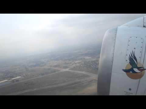 Take-off from OR Tambo (Johannesburg Airport, JNB) to Antananarivo (TNR) Madagascar