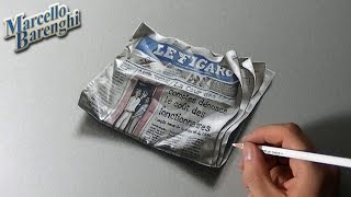 3D Drawing Le Figaro