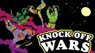 Bootleg Breakdown -E4- Knock Off Wars - 2017 - Luke Toywalker - Łukasz Kowalczuk - Comic Book
