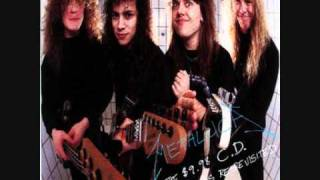 Metallica Last Caress / Green Hell (Lyrics) Garage Days Re-Revisited
