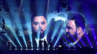 ESC Eurovision 2017 Second Rehearsal  2 Semi Final Croatia - Jacques Houdek - My Friend - EuroFanBcn