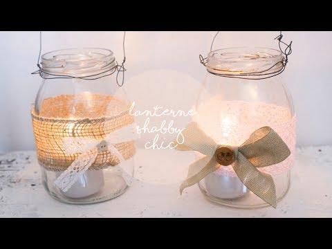 Come fare lanterne riciclando vasetti e barattoli fai da for Decorazione lanterne natale