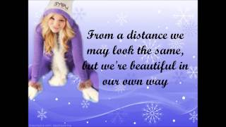 Olivia Holt - Snowflakes || lyrics video [ full song ]
